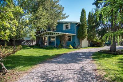 Missoula Single Family Home For Sale: 3612 Rattlesnake Drive