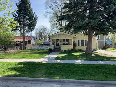 Whitefish Single Family Home For Sale: 541 Columbia Avenue