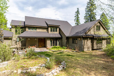 Whitefish Single Family Home For Sale: 1750 Cliff View Lane
