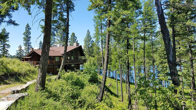 Flathead County Single Family Home For Sale: 406 Blaine Lakeshore Drive