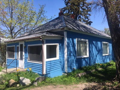Kalispell Single Family Home Under Contract Taking Back-Up : 119 8th Avenue West