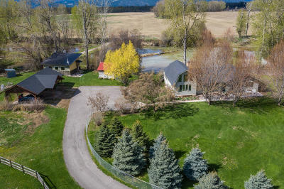 Kalispell Single Family Home For Sale: 800 Steel Bridge Road