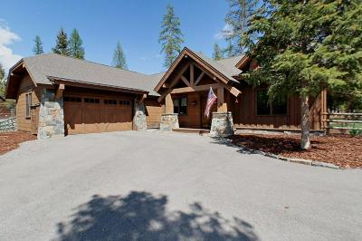 Whitefish Single Family Home For Sale: 196 Timbered Terrace