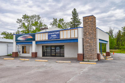 Flathead County Commercial Lease For Lease: Highway 2 East