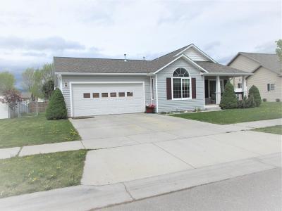 Missoula Single Family Home For Sale: 3713 Kingsbury Place