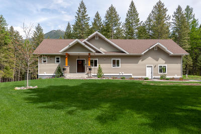 Columbia Falls Single Family Home For Sale: 245 Mountain Timbers Drive