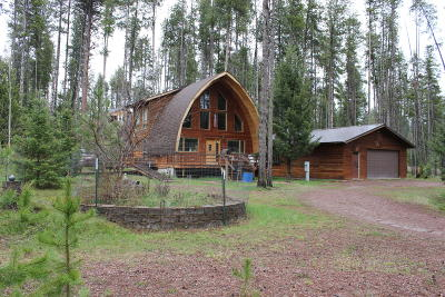 Seeley Lake Single Family Home For Sale: 164 West Wagon Wheel Court