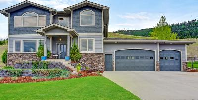 Missoula Single Family Home Under Contract Taking Back-Up : 409 Spanish Peak Drive