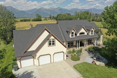 Ravalli County Single Family Home Under Contract Taking Back-Up : 849 Middle Burnt Fork Road