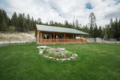 Flathead County Single Family Home For Sale: 1845 Coon Hollow Road