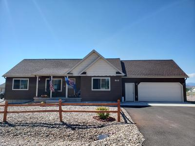 Helena Single Family Home For Sale: 865 Vega Road