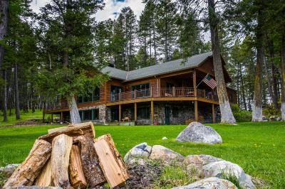 Flathead County Single Family Home For Sale: 300 Bowdish Road