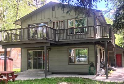 Whitefish Single Family Home For Sale: 1600 East Lakeshore Drive