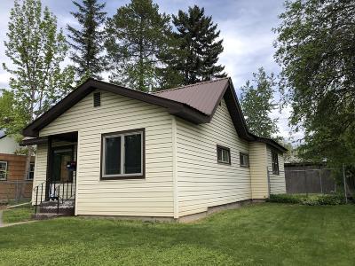 Whitefish, Olney Single Family Home For Sale: 549 Kalispell Avenue