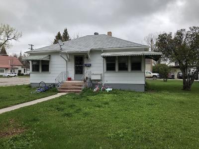 Choteau Single Family Home For Sale: 105 2nd Avenue South West