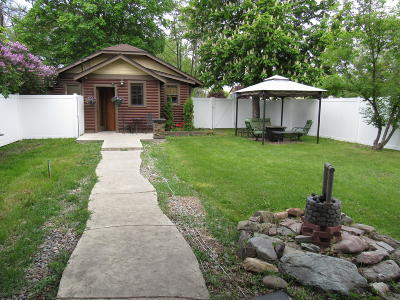 Flathead County Single Family Home Under Contract Taking Back-Up : 1105 5th Avenue West