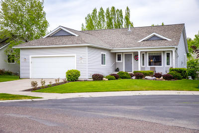 Kalispell Single Family Home Under Contract with Bump Claus: 62 East Northview Loop