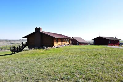Great Falls, Black Eagle, Belt, Ulm Single Family Home Under Contract Taking Back-Up : 522 Goodwyn Coulee Road