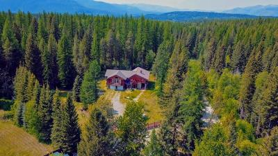 Columbia Falls, Hungry Horse, Martin City, Coram Single Family Home For Sale: 1010 South Fork Road East