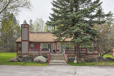 Whitefish Single Family Home For Sale: 986 Colorado Avenue