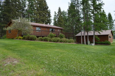 Whitefish Single Family Home For Sale: 1550 Km Ranch Road