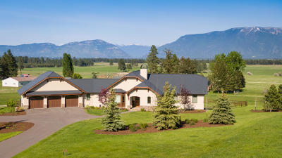 Flathead County Single Family Home For Sale: 25 North Pinnacle Road