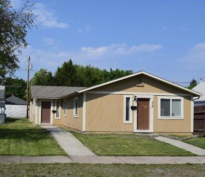 Kalispell Multi Family Home For Sale: 318 & 320 8th Avenue West