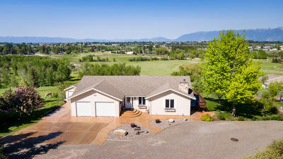 Flathead County Single Family Home Under Contract Taking Back-Up : 1617 U.s. Hwy 2 West