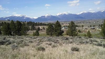 Stevensville Residential Lots & Land Under Contract Taking Back-Up : Tract B1 Reed Butte Road