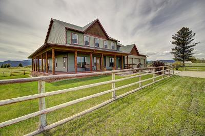 Kalispell Single Family Home Under Contract Taking Back-Up : 1362 Lower Valley Road