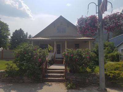 Lincoln County Single Family Home Under Contract Taking Back-Up : 510 East Missoula Avenue