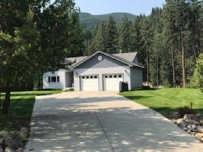 Mineral County Single Family Home For Sale: 602 Trestle Creek Drive