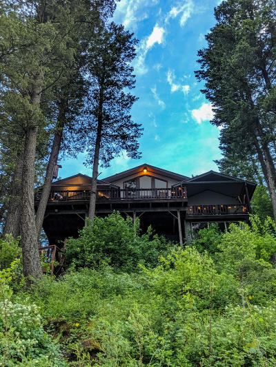 Kalispell Single Family Home Under Contract Taking Back-Up : 245 Lake Blaine Drive