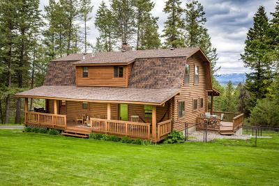 Kalispell Single Family Home Under Contract Taking Back-Up : 223 Segiah Way