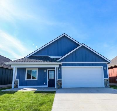 Kalispell Single Family Home Under Contract Taking Back-Up : 411 Hollyhock Lane