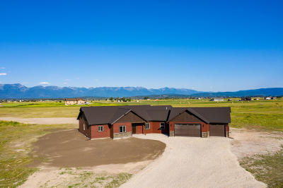 Kalispell Single Family Home Under Contract Taking Back-Up : 16 Sierras Landing