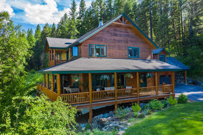 Whitefish Single Family Home For Sale: 330 Hawks Lake Lane