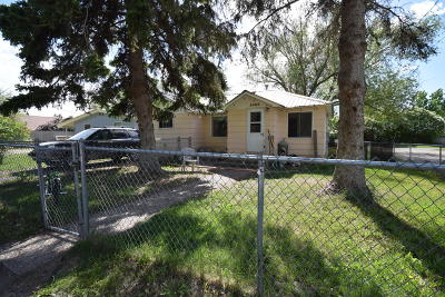 Columbia Falls Single Family Home Under Contract Taking Back-Up : 1406 3rd Avenue West