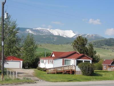 Dell, Anaconda, Wise River, Butte Single Family Home For Sale: 10929 Mt-1