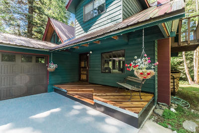 Kalispell Single Family Home Under Contract Taking Back-Up : 1919 Foothill Road