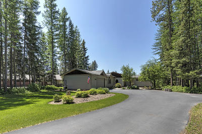 Whitefish Single Family Home For Sale: 332 Shady River Lane