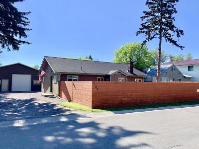 Kalispell Single Family Home Under Contract Taking Back-Up : 1120 7th Avenue West