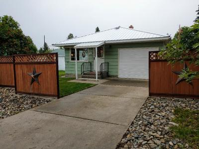Lincoln County Single Family Home Under Contract Taking Back-Up : 1209 Montana Avenue