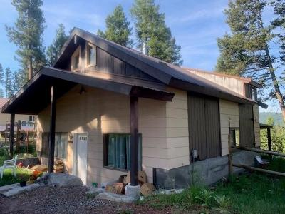 Seeley Lake Single Family Home For Sale: 1021 Willow Drive