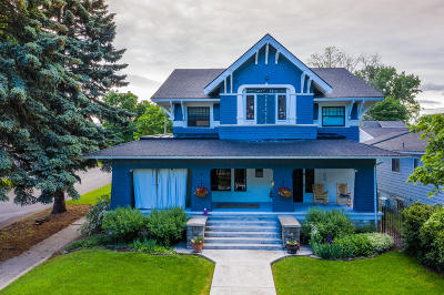Kalispell Single Family Home Under Contract Taking Back-Up : 405 3rd Avenue East