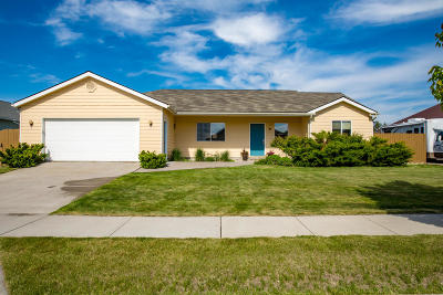 Kalispell Single Family Home Under Contract Taking Back-Up : 126 Blue Crest Drive