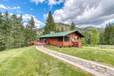 Lolo Single Family Home Under Contract Taking Back-Up : 13207 Lolo Creek Drive
