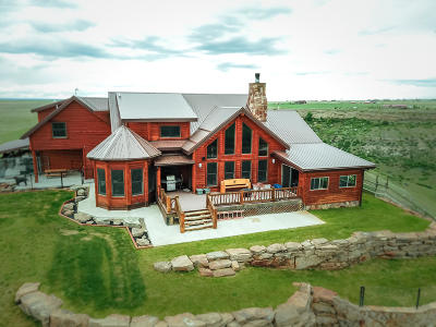 Great Falls, Black Eagle, Belt, Ulm Single Family Home For Sale: 85 Comer Hill Road