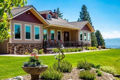 Flathead County Single Family Home For Sale: 279 Wild Rose Trail