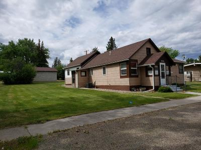 Fort Benton Single Family Home Under Contract Taking Back-Up : 1714 Chouteau Street